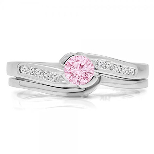Pink Sapphire Engagement Rings