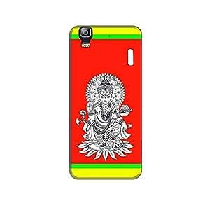 Vibhar printed case back cover for Lenovo K3 Note Ganesha