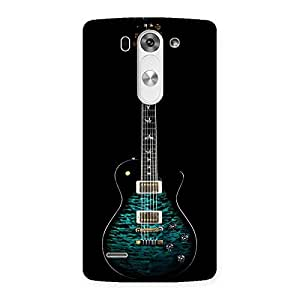 Delighted Greenish Print Guitar Back Case Cover for LG G3 Mini