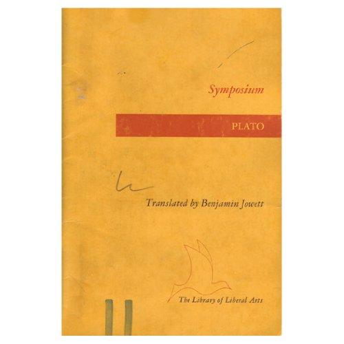 Symposium, Translator Benjamin Jowett