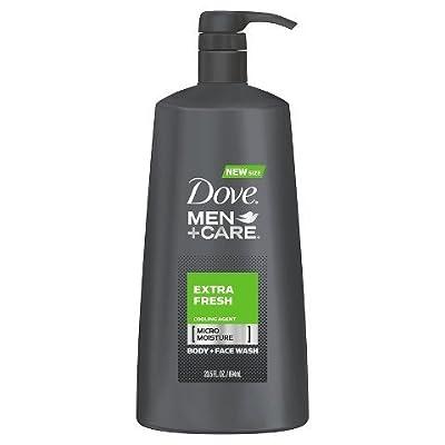 Dove Men+Care Extra Fresh Body Wash 23.5 oz TRG