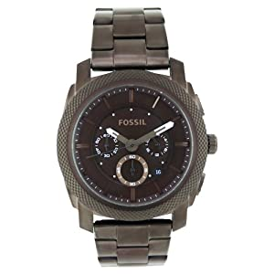 Fossil Men's FS4661 Stainless Steel Analog with Brown Dial Watch