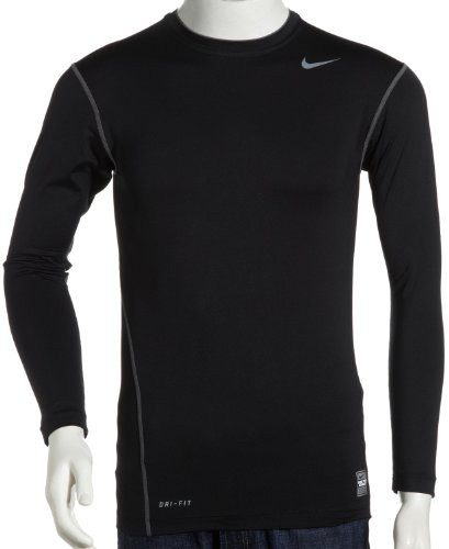 Nike Pro Core Long Sleeve compressions Top, Pointure M EU