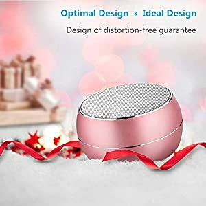 NUBWO Portable Bluetooth Speakers with HD Audio and Enhanced Bass, Built-in Speakerphone for iPhone, iPad, BlackBerry, Samsung and More (Green) (Color: Green)
