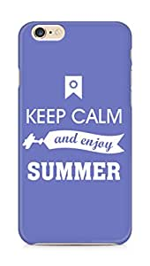 Amez Keey Calm and Enjoy Summer Back Cover For Apple iPhone 6s Plus