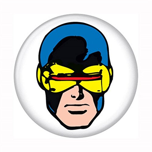 "X-Men Retro Cyclops - Marvel Comics - Pinback Button 1.25"" Bae-121"