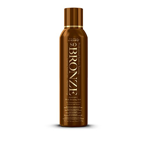 Hempz So Bronze Sunless Airbrush Tanning Spray, Brown, Sweet Peach, 7.5 Fluid Ounce