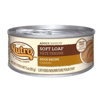 Nutro Natural Choice Soft Loaf Duck Recipe Canned Adult Cat