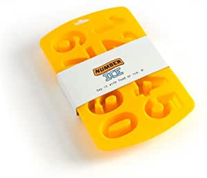 Silicone Number Ice / Bake Tray