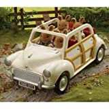 Sylvanian Families Cream Saloon Car