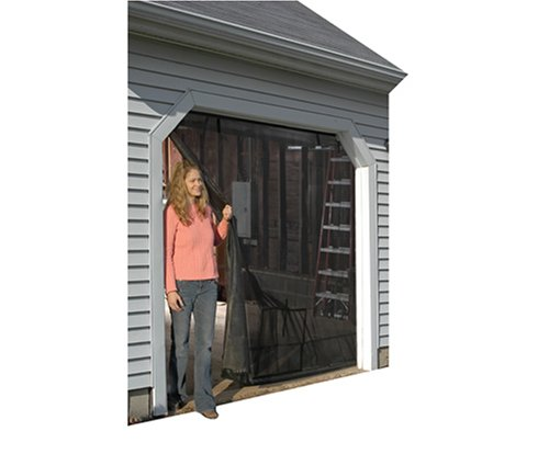 Shelterlogic 9x7 garage screen with roll up pipe garage for Roll up screen door for garage