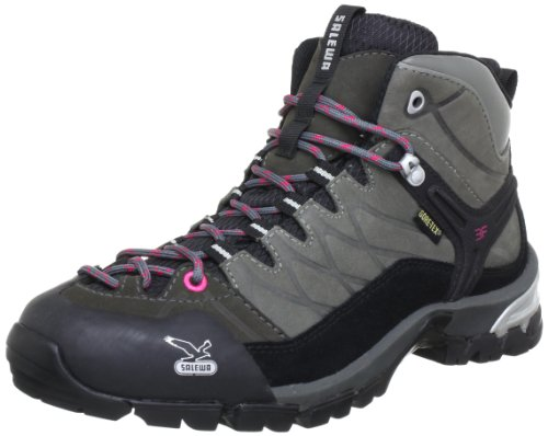 SALEWA-WS-HIKE-TRAINER-GTX-Damen-Trekking-Wanderstiefel-Grau-0400-Grey-38-EU-5-Damen-UK