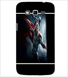 PrintDhaba Thor D-1387 Back Case Cover for SAMSUNG GALAXY GRAND 2 (Multi-Coloured)