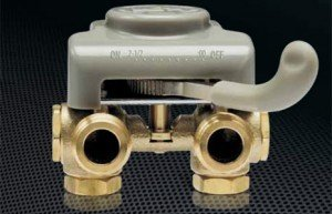 washing machine auto shut valve