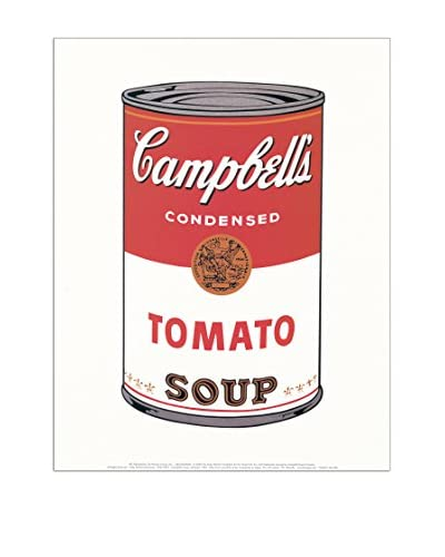 ArtopWeb Panel Decorativo Warhol Cambell's Soap (Tomato 1968) - 28x35 cm