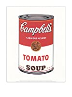 Artopweb Panel Decorativo Warhol Cambell's Soap (Tomato 1968) - 28x35 cm Multicolor
