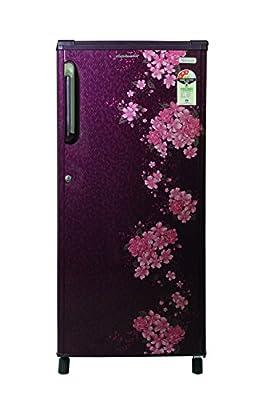 Kelvinator KS203PTQR/KW203PTQR Direct-cool Single-door Refrigerator (190 Ltrs, 3 Star Rating, Bouquet Red)