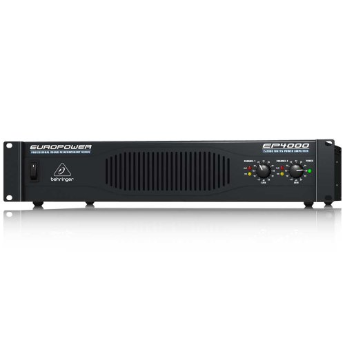 Behringer Europower Ep4000 Professional 4,000-Watt Stereo Power Amplifier With Atr (Accelerated Transient Response) Technology