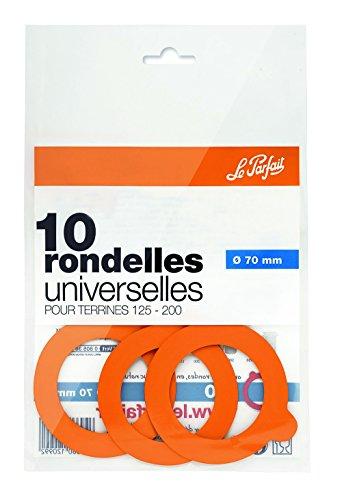 Le Parfait 1978010 Lot de 10 Rondelles Universelles 70 Mm-