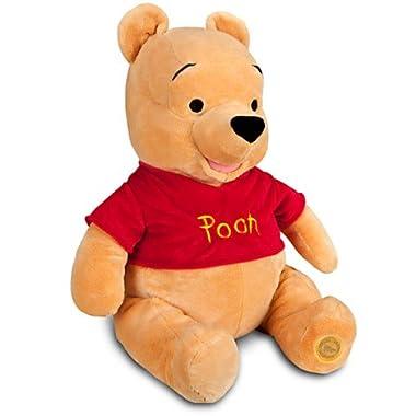 Disney ディズニー Winnie the Pooh Plush クマのプーさん 大きい ぬいぐるみ 18インチ 46cm