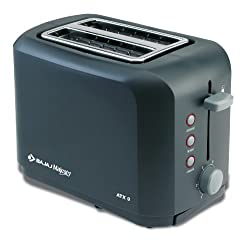 Bajaj Majesty ATX 9 2-Slice 800-Watt Auto Pop-up Toaster