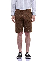 GHPC Men's Printed Cotton Casual Slim Fit Shorts (CT2053-$P)