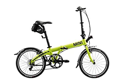 MINI Genuine Folding Mountain Bicycle Bike Lime Edition 80912298370
