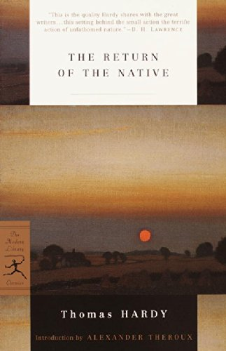 a literary analysis of the return of the native by thomas hardy While in london hardy wrote poems and to submitted them to editors, who  uniformly returned  a significant influence on later poets (including frost, auden , dylan thomas, and philip  like most of hardy's novels, return of the native is  considered a regional novel  what is the significance/symbolism of the bonfire.