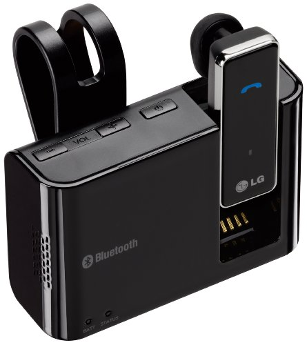 Lg Hbm-800 Bluetooth Mono Headset With Speakerphone And Charging Cradle