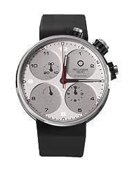 Meccaniche Veloci Men's W123N078372016 Automatic Titanium Silver Dial Chronograph Watch