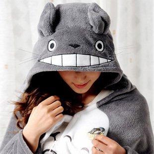 And LUGANO watch my Neighbor Totoro cloak shawl style Halloween events costume cosplay Halloween costume