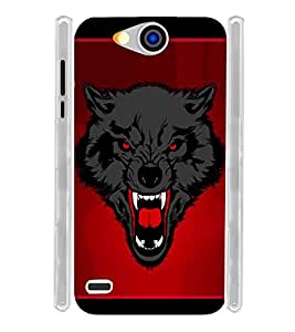 Horror Fox Soft Silicon Rubberized Back Case Cover for Xolo Prime