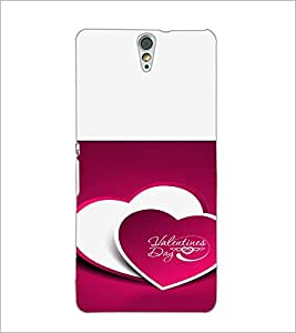 PrintDhaba Valentines Day D-4725 Back Case Cover for SONY XPERIA C5 ULTRA (Multi-Coloured)