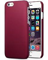 """Terrapin Étui Caoutchoutée pour iPhone 6 Coque (4.7"""") - Solide Rouge"""