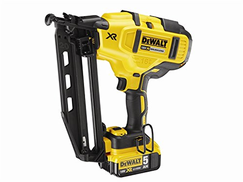 dewalt-dcn660p2-gb-cordless-xr-brushless-second-fix-nailer-18-volt-with-2-50ah-li-ion-batteries