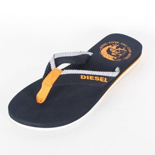 Diesel Mens Kaliki Maka Sandals In Total Blue Size 7 5 D M US Color Total Blue