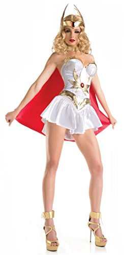 Costume Adventure Women's Sexy She-Ra Style Masters of The Universe Costume S/M (Shera Costumes)