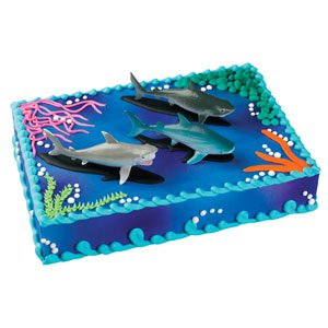 Bakery Crafts Sharks Cake Topper: Amazon.ca: Home & Kitchen