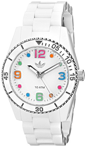 adidas-Unisex-ADH2941-Brisbane-White-Watch-with-Silicone-Strap
