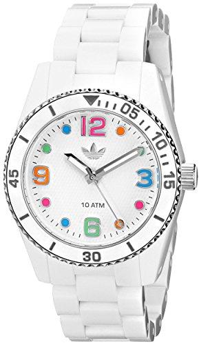 Adidas Women's Brisbane ADH2941 White Plastic Quartz Watch with White Dial