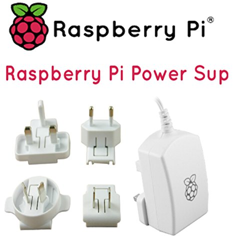 Raspberry pie for 3 generation B 2.5A/5.1V official power international safety certification of British / European / American / Australian (Australian Pie compare prices)