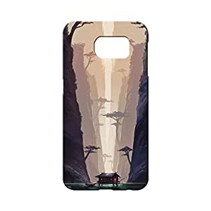BLUEDIO Designer 3D Printed Back case cover for Samsung Galaxy S7 - G0400