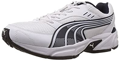 Puma Men's Pluto DP White-Insignia Blue Running Shoes - 11 UK /India(46EU)