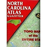 North Carolina Atlas & Gazetteer (State Atlas & Gazetteer) (0899332315) by Delorme