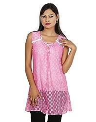Sringar Women's Top (As3082_L_Pink_X-Large)