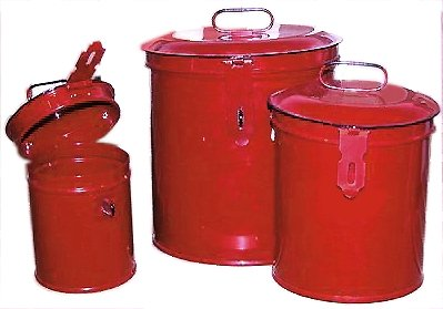 Vintage or Retro Canister Set ~ Kitchen Storage Canisters ~ Decorative Containers E5~ French Country Red Enamel 0