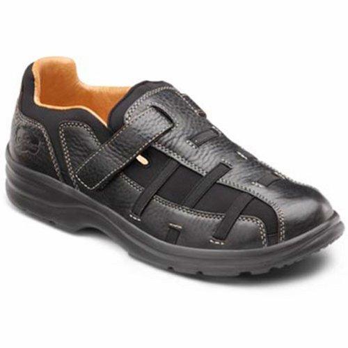 Dr. Comfort Betty Women'S Therapeutic Diabetic Extra Depth Sandal: Black 10 Wide (C-D) Velcro