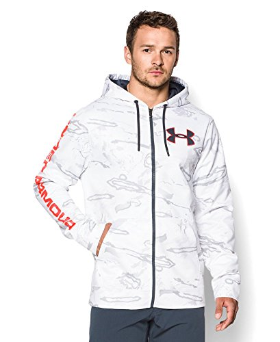Under Armour Men's UA ColdGear® Infrared Scent Control Caliber Camo Hoodie Large RIDGE REAPER® SNOW