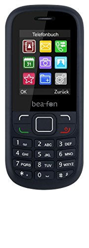 Dual Sim Handy Mobiltelefon klassisch - Bluetooth FM Radio Taschenlampe - ohne Vertrag schwarz