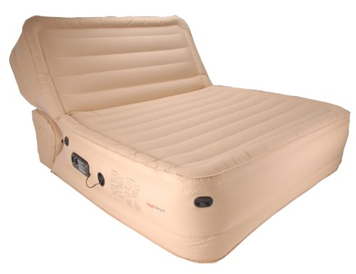 Simplysleeper ss 98q premium queen inflatable sofa air bed for Sofa bed air mattress